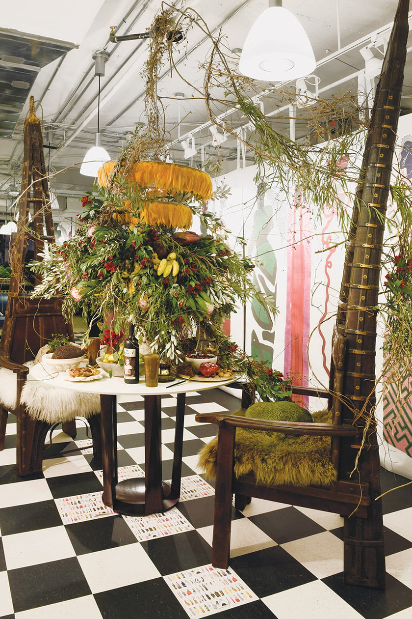 David Anthony Chenault's exotic scene in Hines & Co.