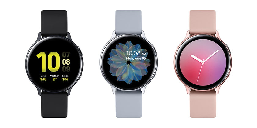 Samsung's Galaxy Watch Active2.