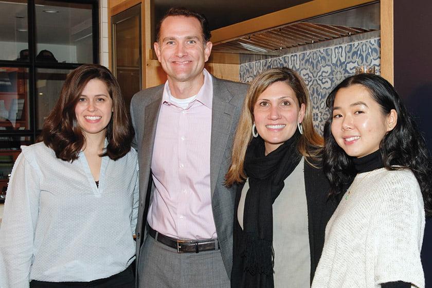 Studio Snaidero DC Metro's Sarah Glenn, Jim Dillon, Shawna Dillon and Elizabeth Chung.