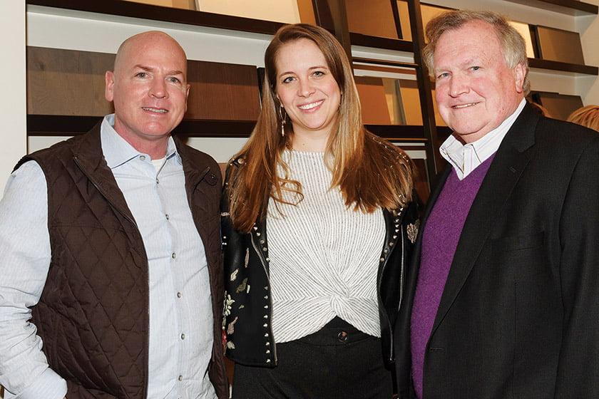 John Kiernan, Alyssa Ploszay, publisher Tod Herbers.