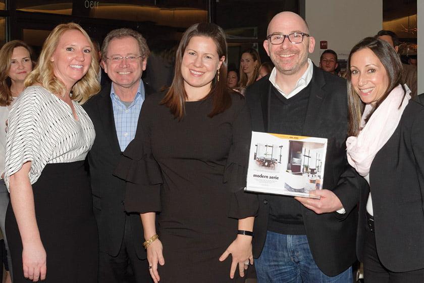 Katie Otis, Warren Wick, Rachel Bradley, Eric Carle, Home & Design's Monica West Porter.