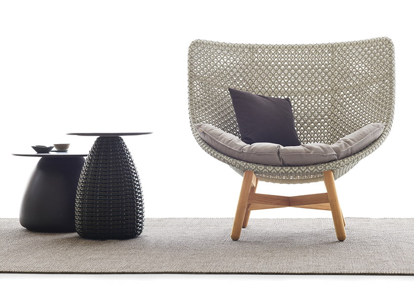 Dedon's MBrace seating collection.