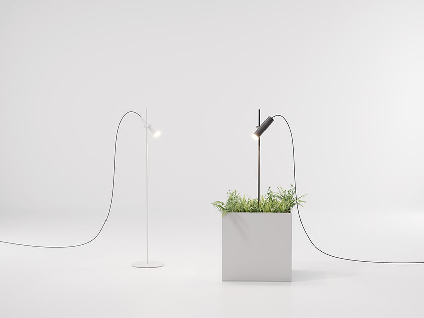 Kettal Studio's Dots Collection indoor-outdoor lamp.