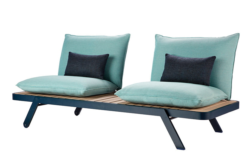 The Sunset collection, a collaboration between Roche Bobois and The Rockwell Group.