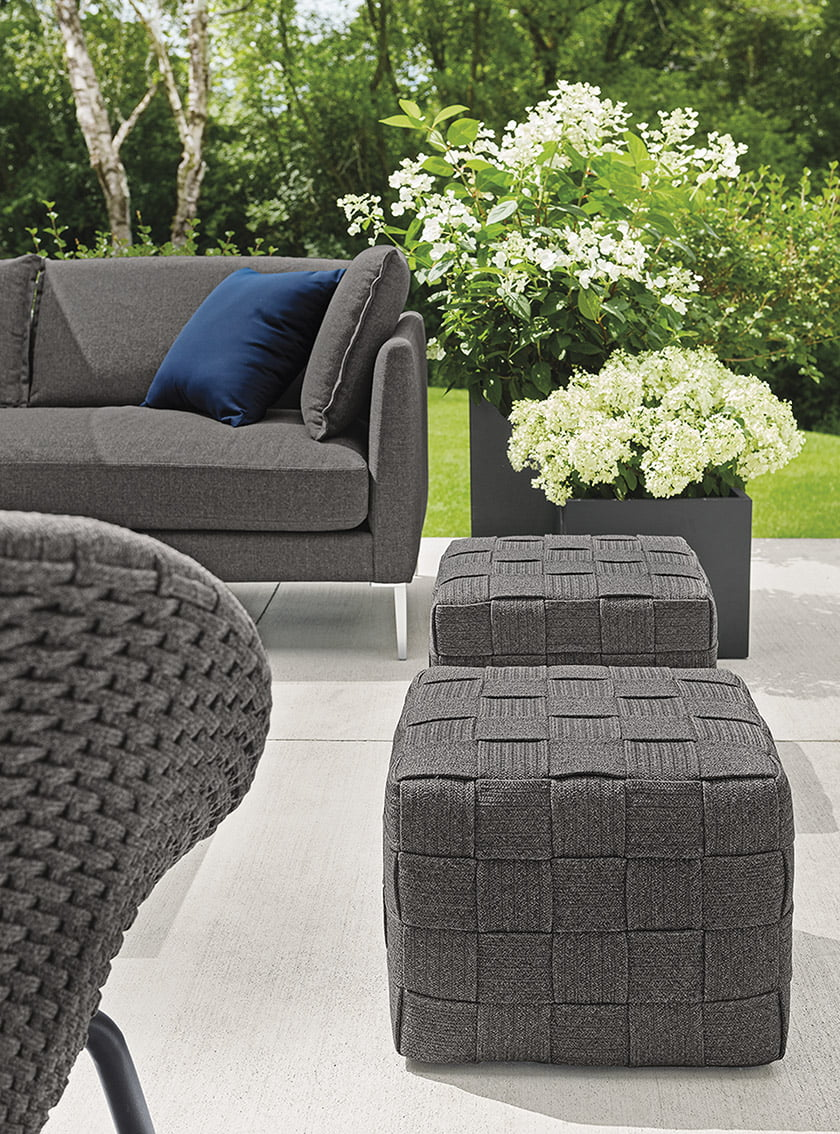 Flet outdoor-seating from Room & Board.