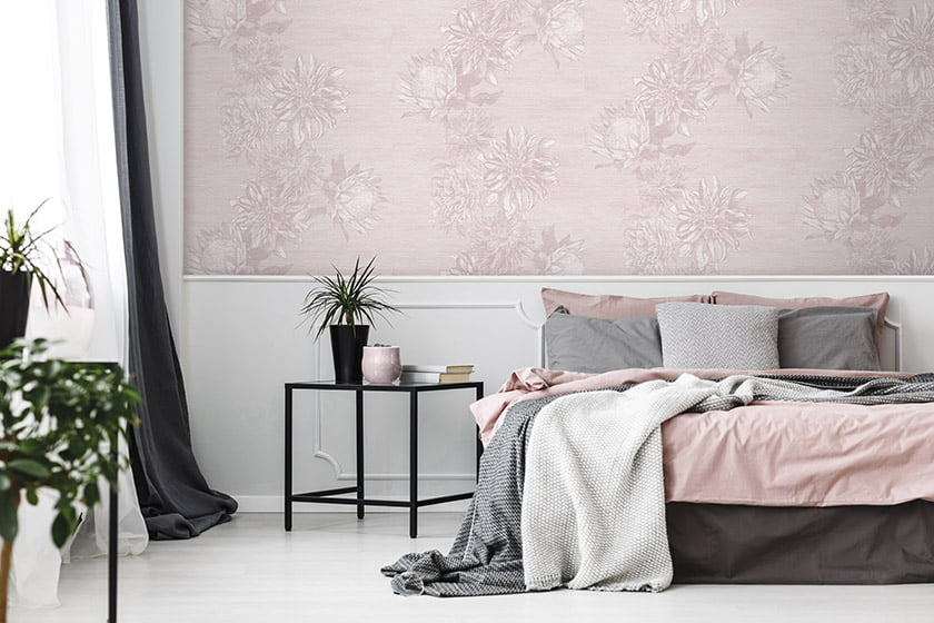Blooms from the Chelsea Flower Show inspired the profusion of dahlias and peonies in the Dahling line of wallpaper. Depicted by artist Melinda Marquardt for The Vale London's Beaufort Collection, it's printed on linen paper and available through Hines & Company.
