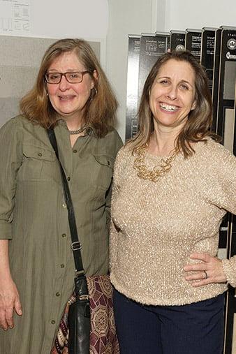 Julia Heine, Janet Bloomberg.