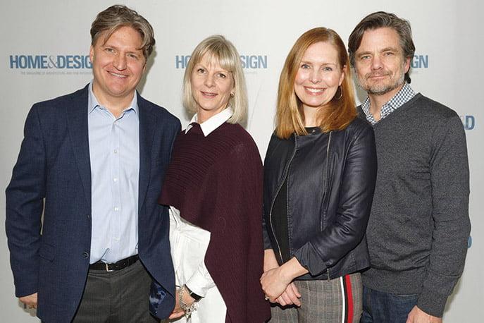 Christian Nadeau, Bernice Nadeau, Suzanne Manlove, Mark Manlove.