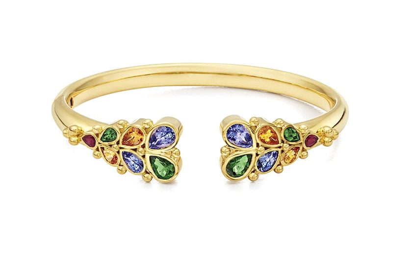 The Oasis cuff bracelet by Temple St. Clair.