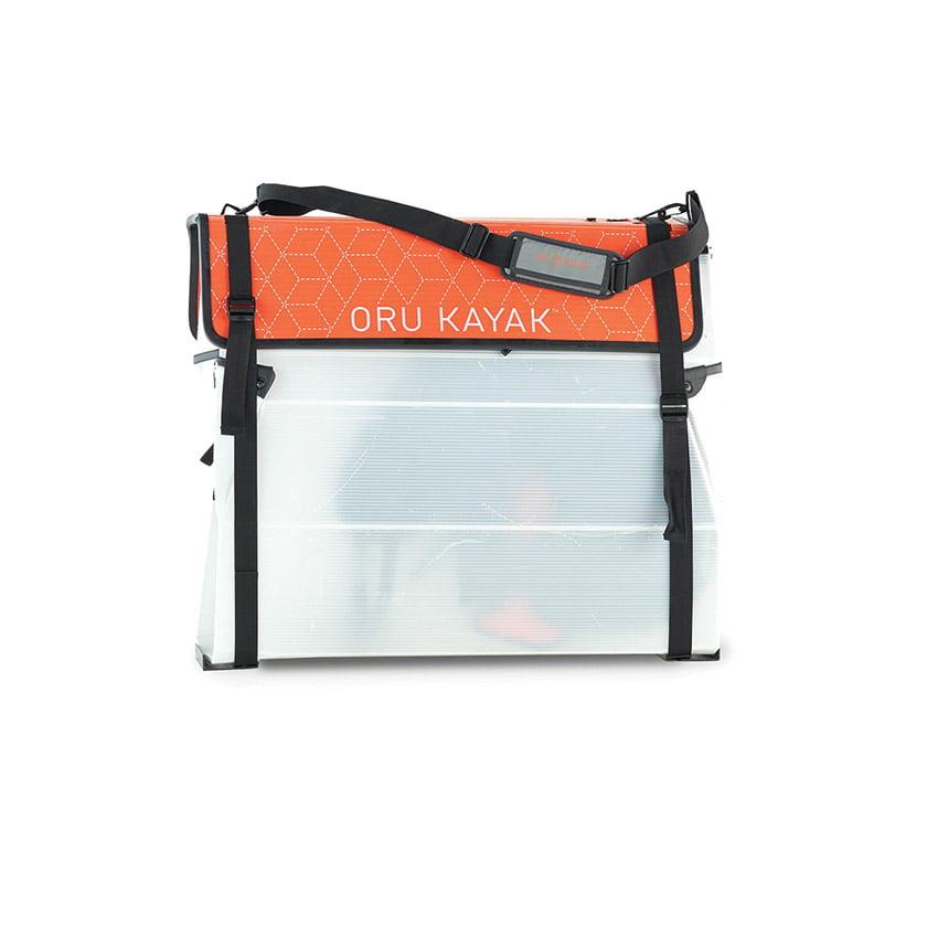 Oru's kayak fold into an easily portable, compact box.