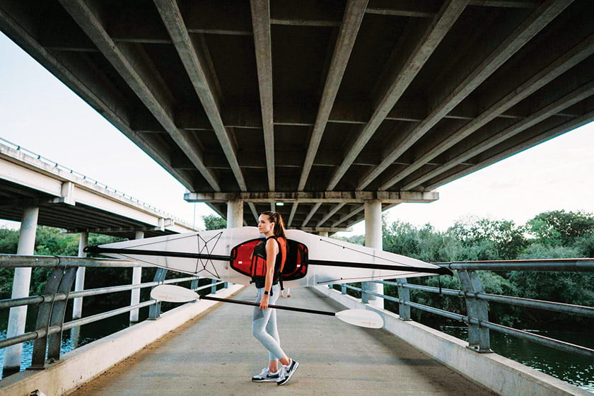 The Bay ST. kayak is designed for day trips and casual beach and fishing excursions.
