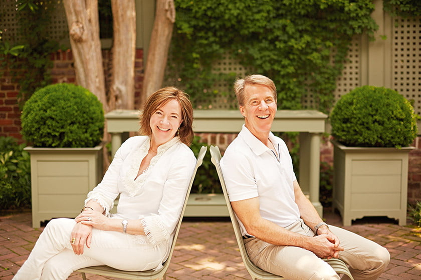 Siblings and co-founders Anne Harris Massie and William McKinnon Massie, Jr., design all their products.
