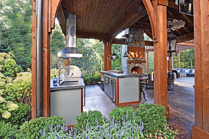 Outdoor Entertaining Spaces Home Design Magazine