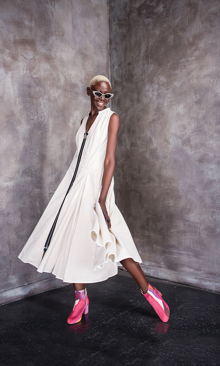 A frock from Lili the First's summer collection.