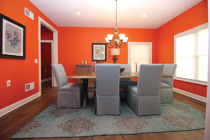JT Custom Builders won for Custom Home under 3,500 square feet. © Amber Dawson