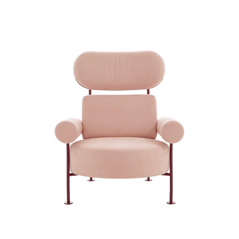 Astair, a chic armchair designed by Pierre Charpin for Ligne Roset.