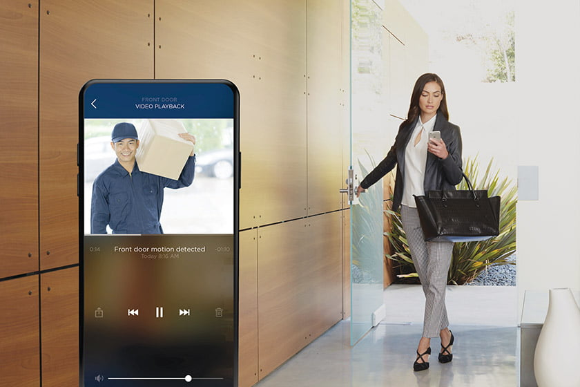 Available through Integrated Media Systems, the Savant Pro App works with the August Smart Lock system.
