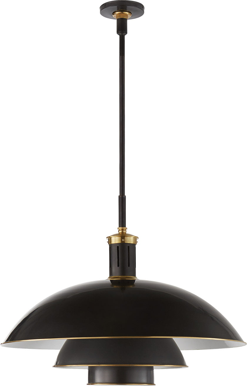 The Whitman Large Pendant by Thomas O'Brien for Visual Comfort.