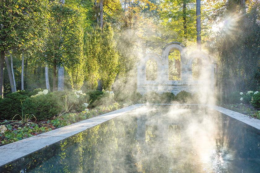 LANDSCAPE ARCHITECT: Kevin Campion, ASLA; Campion Hruby Landscape Architects.  Photo: David Burroughs