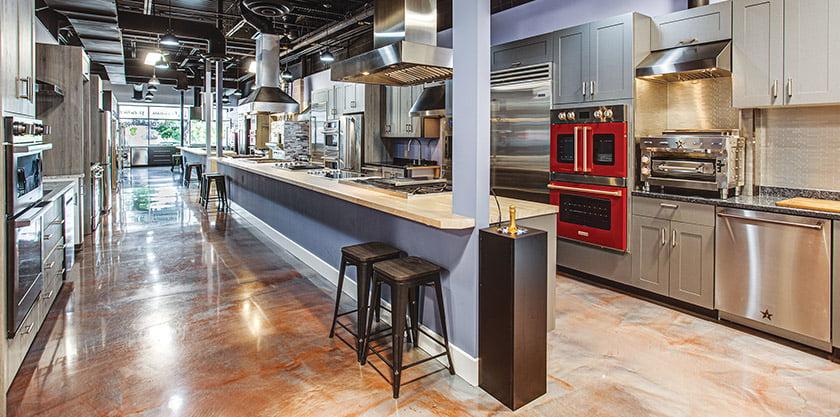 APPLIANCES: ABW Appliances.  Photo: Phil Yonker