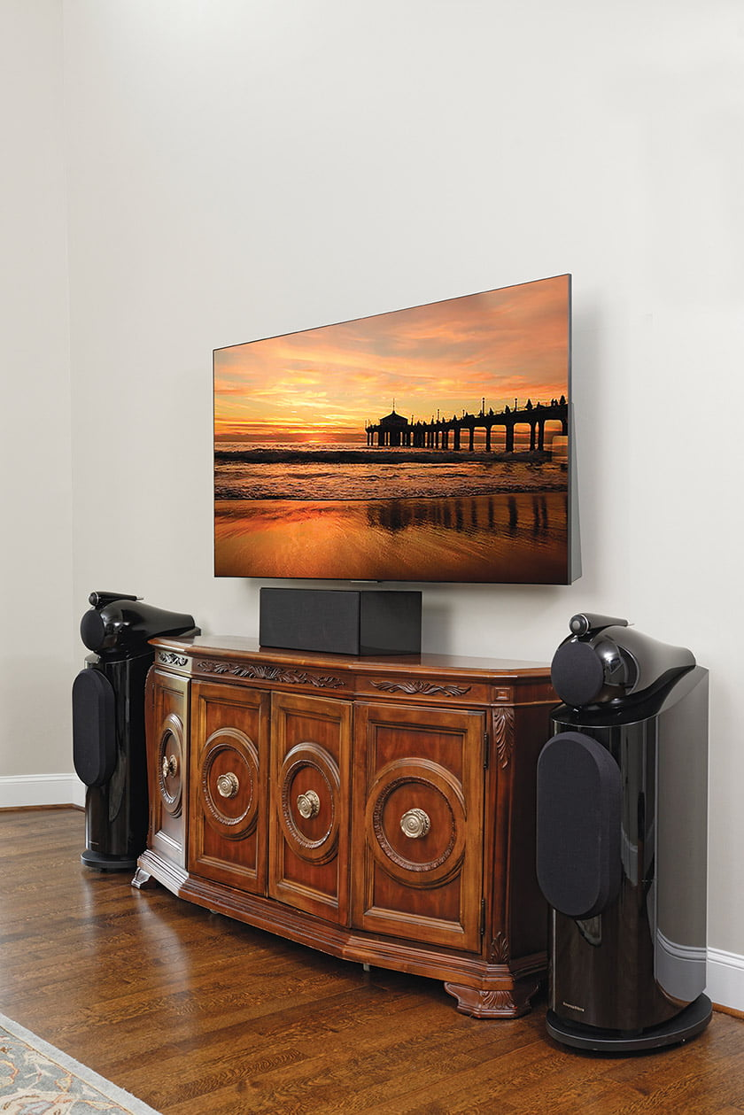 HOME TECHNOLOGY: Integrated Media Systems.  Photo: Bob Narod