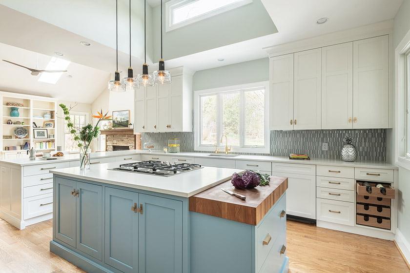 Jennifer Gilmer Kitchen & Bath, Ltd. Photo: Keith Miller