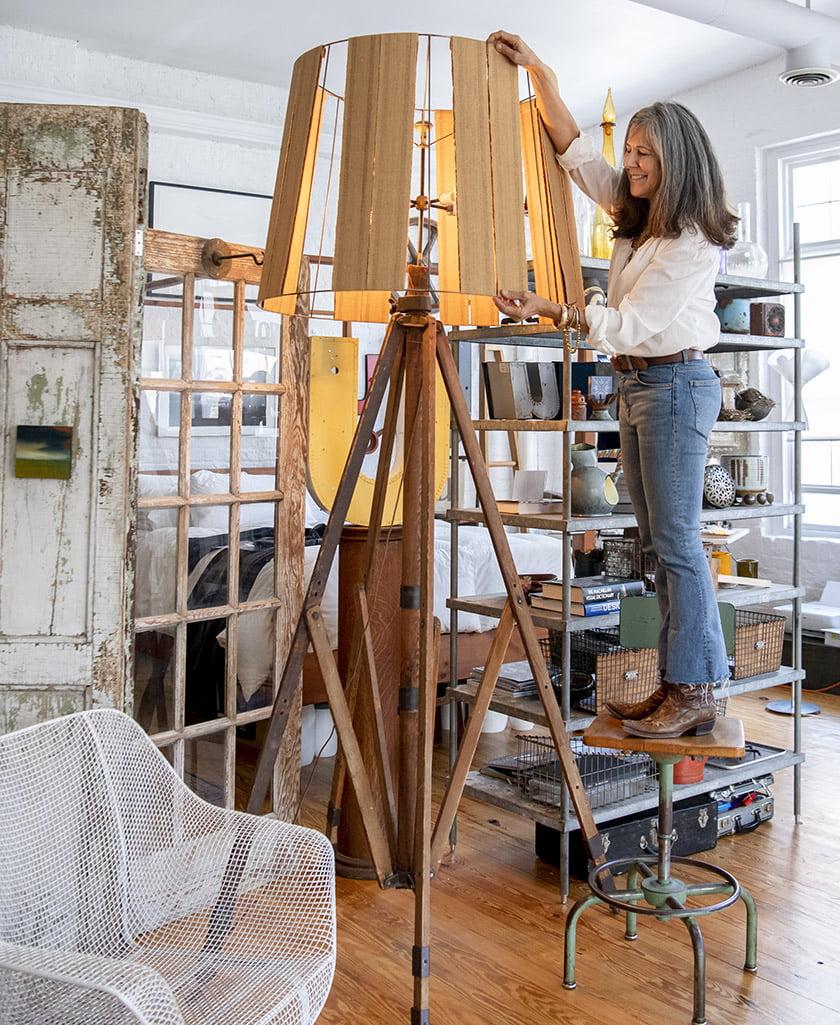 Umanoff in her studio. Photo: Todd Wright
