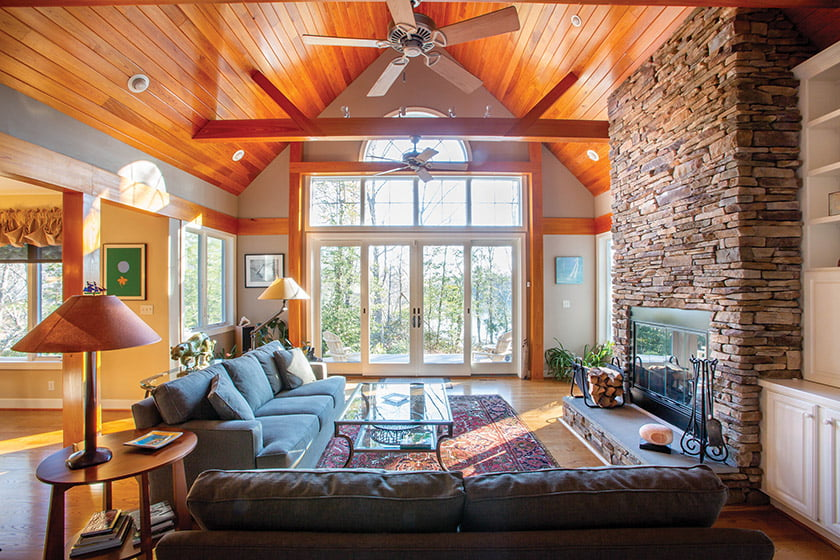 A residence on Tipers Creek on Virginia's Northern Neck is listed for $759,500.