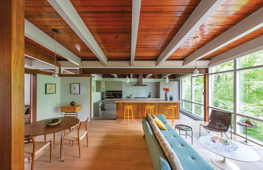 AIA Northern Virginia Merit Award for 3347 Sheffield Court: Cook Architecture. © John Cole