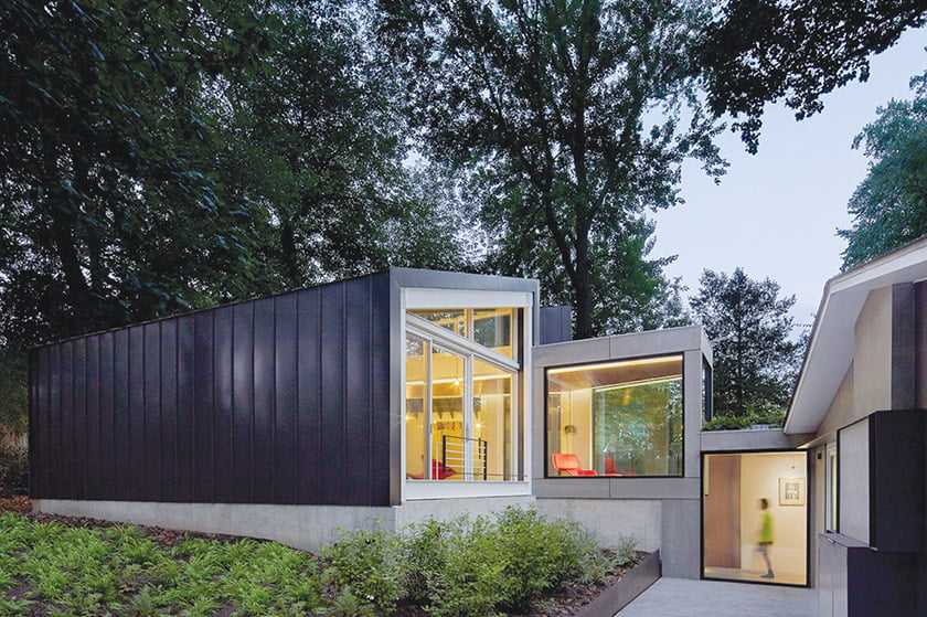 AIA Northern Virginia Excellence Award for Dual Modern: KUBE architecture. © Anice Hoachlander
