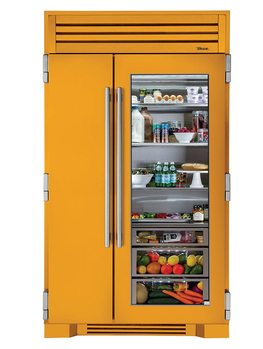True Residential's 42-inch-wide Side-by-Side Refrigerator.