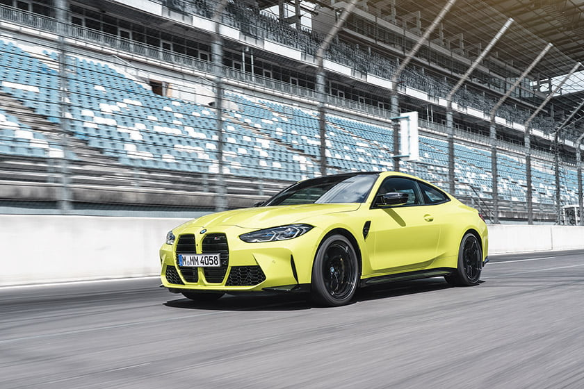 BMW's 2021 M4 Coupe.