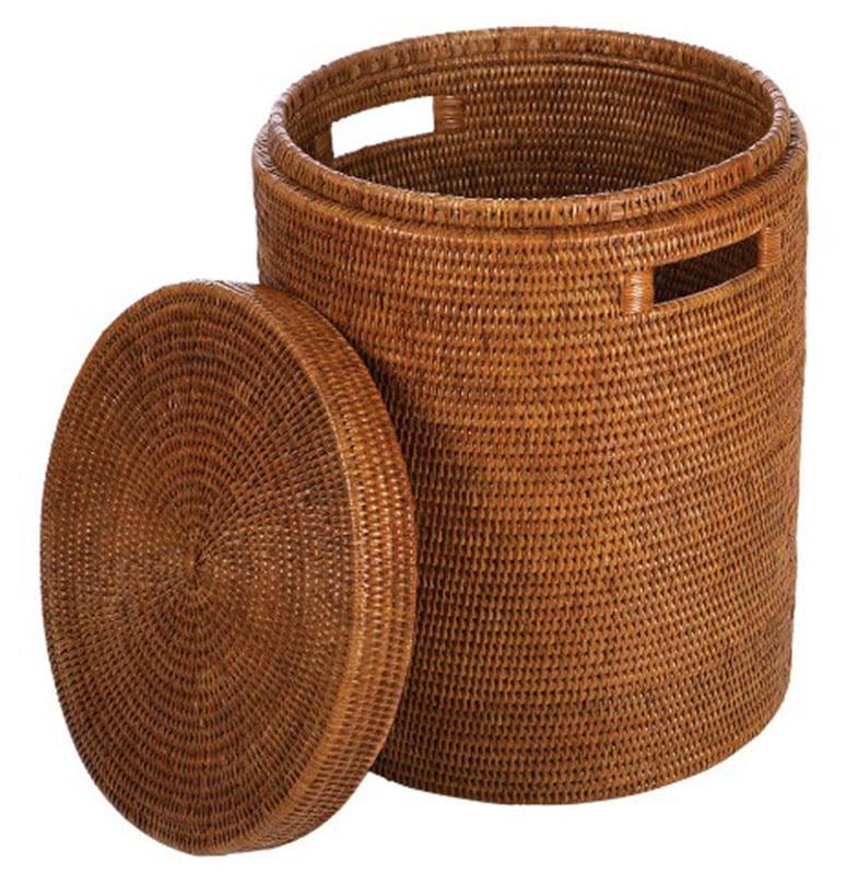 Amara Global Explorer Rattan Laundry Basket