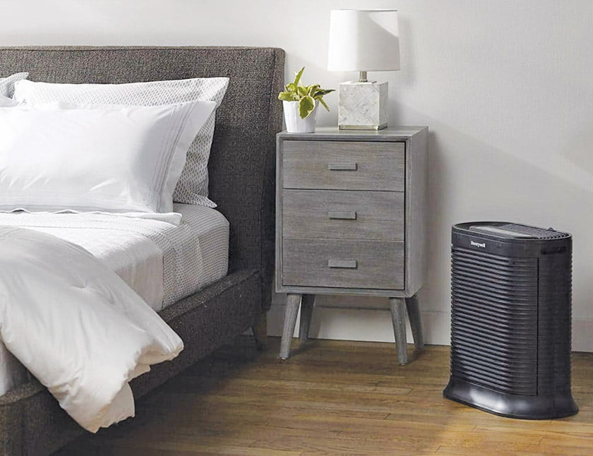 A Honeywell air purifier.