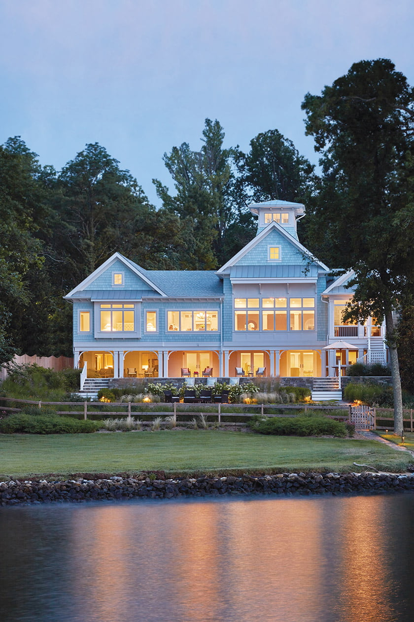 CUSTOM HOME 7,000-8,000 Square Feet— Bayview Builders for Wardour Coastal.  Photo: David Burroughs