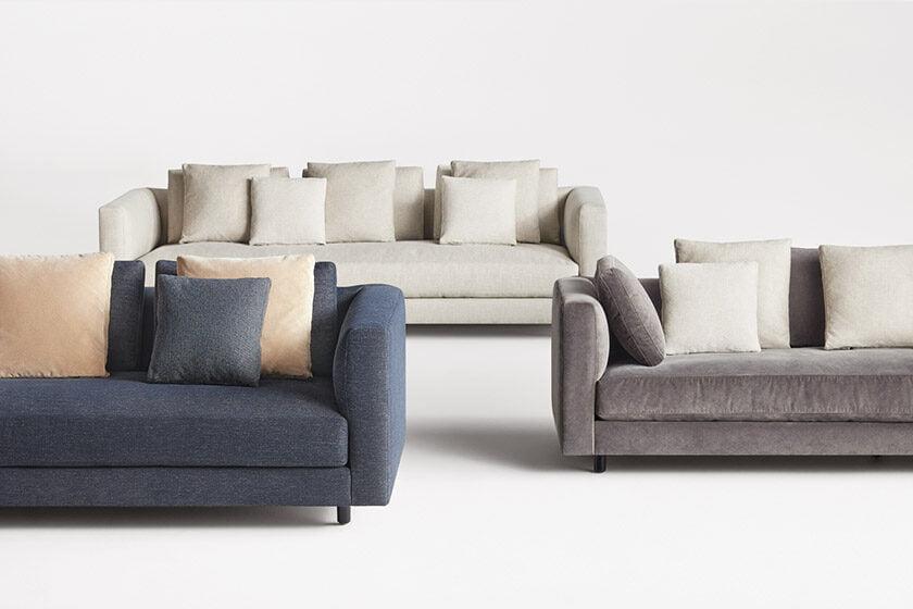 Blu Dot's Hands Down Sofa.