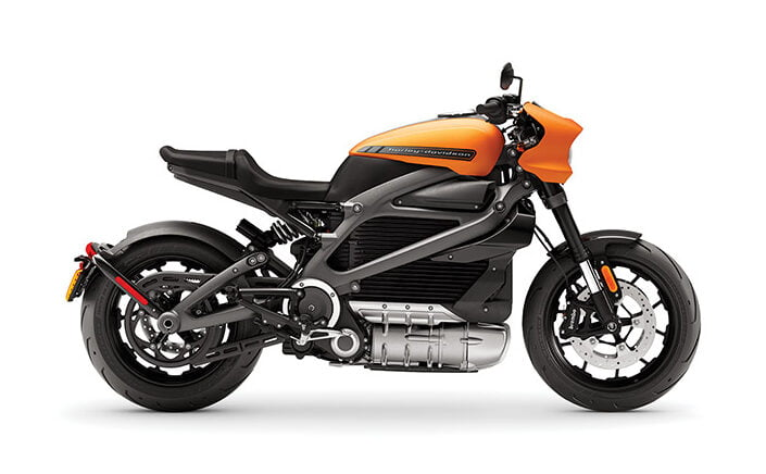 Harley-Davidson's electric LiveWire.