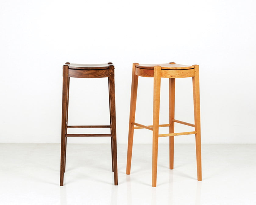 The Island Stool by Thos. Moser.