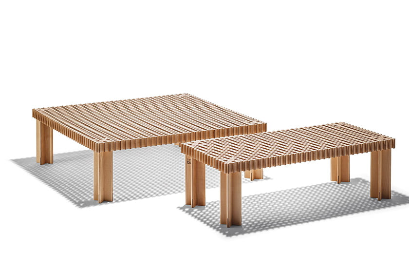 The Japanese Kyoto table from Poltrona Frau.