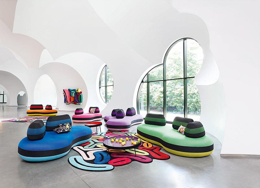 Joana Vasconcelos's Bombom collection for Roche Bobois.