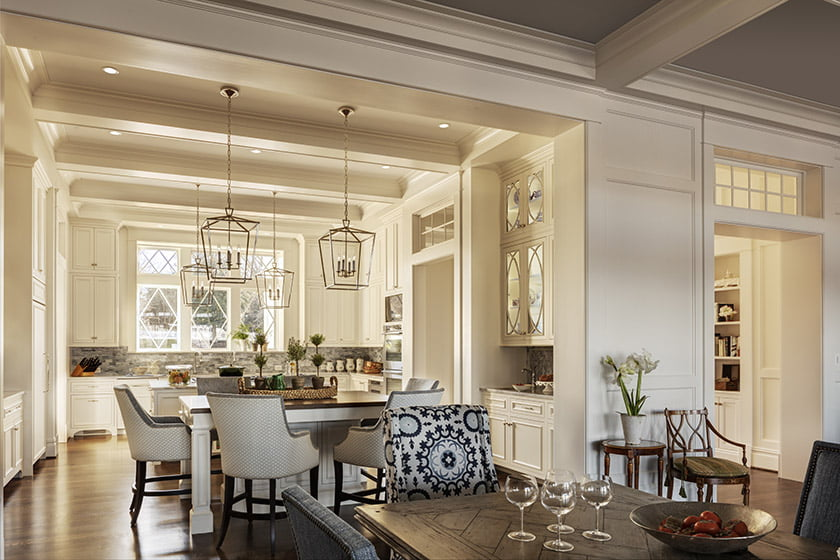 """A self-proclaimed """"food enthusiast"""" who loves to cook, Margaret Condit requested double islands in the kitchen. Photo: Durston Saylor"""