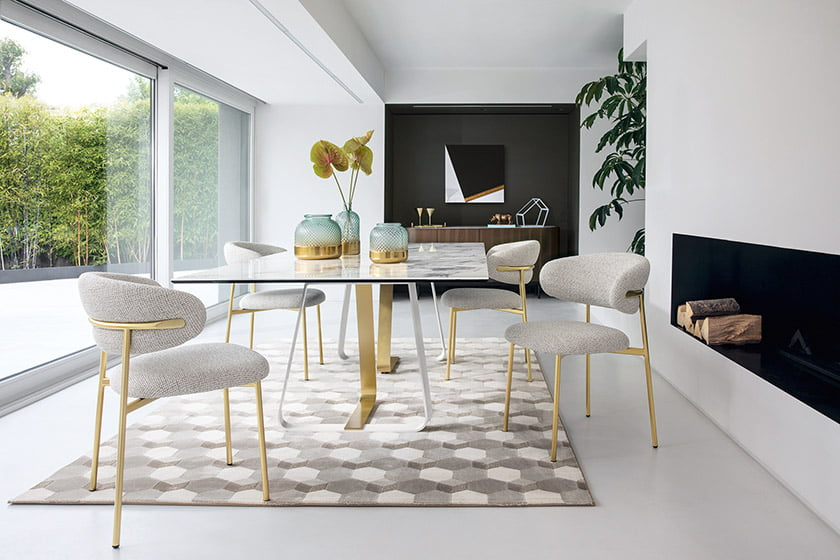 The Oleandro chair by Calligaris.