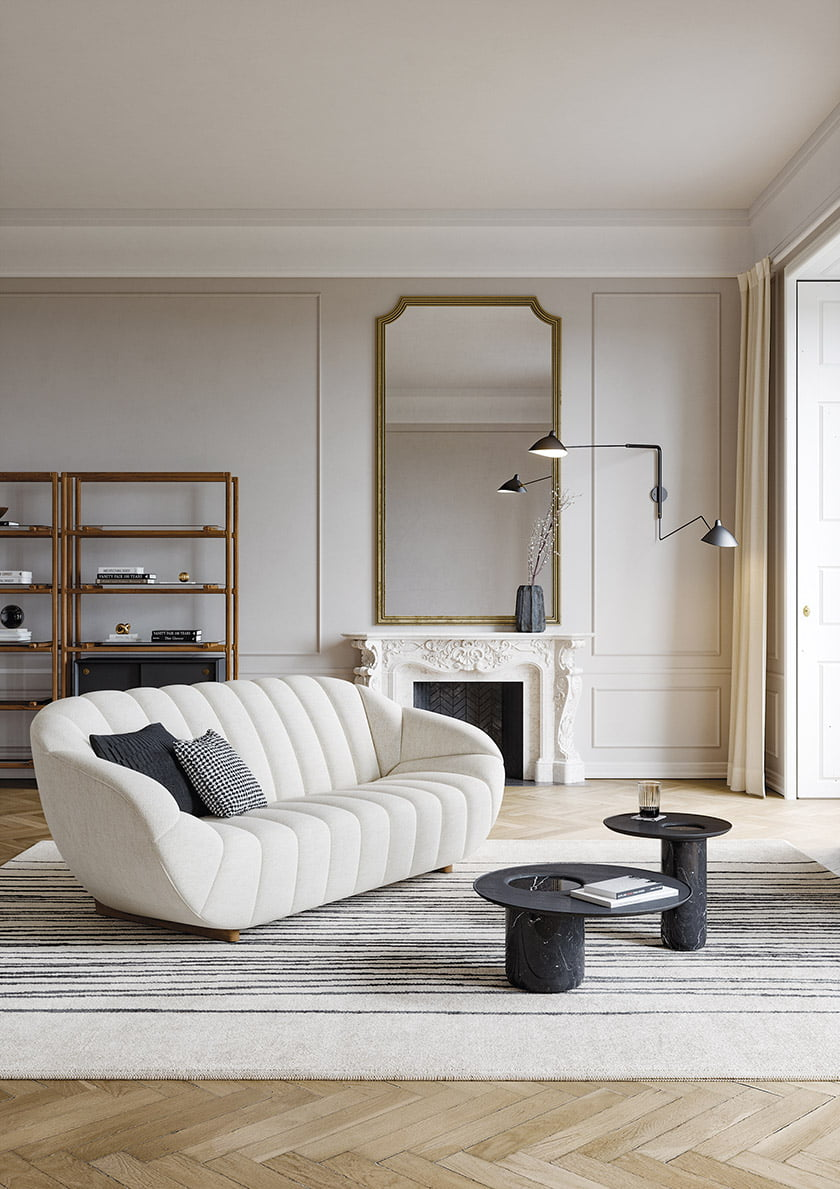 The Rabelo sofa by Wewood.