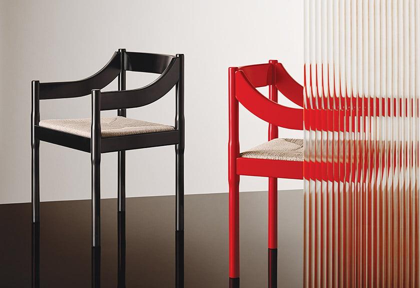 The Carimate armchair for Fritz Hansen.