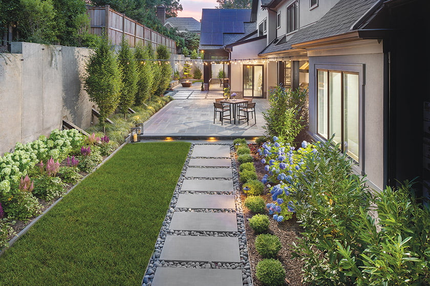 Modern Marvel Outdoor Gallery by Rossen Landscape. Photo: Morgan Howarth