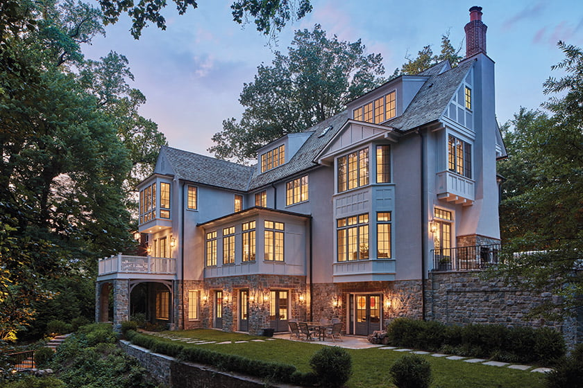 Tudor home in Washington DC spring valley