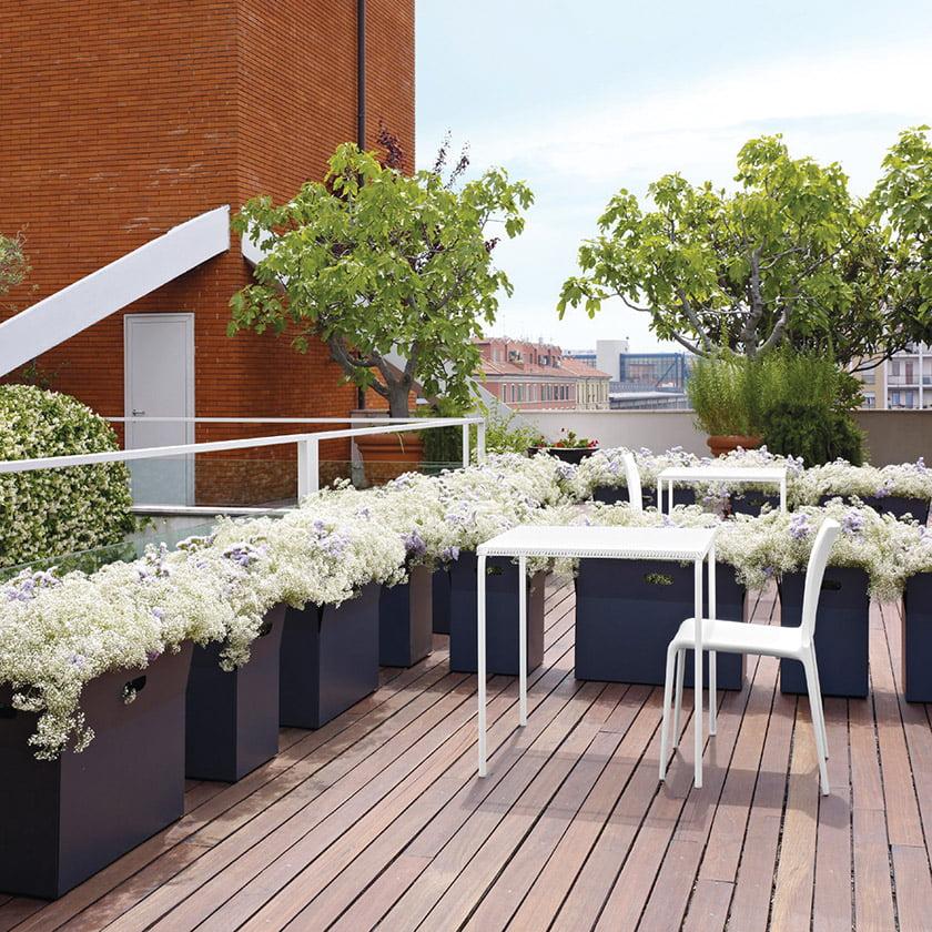 The Giardinetto planter, designed by Michael Koenig for Ligne Roset.