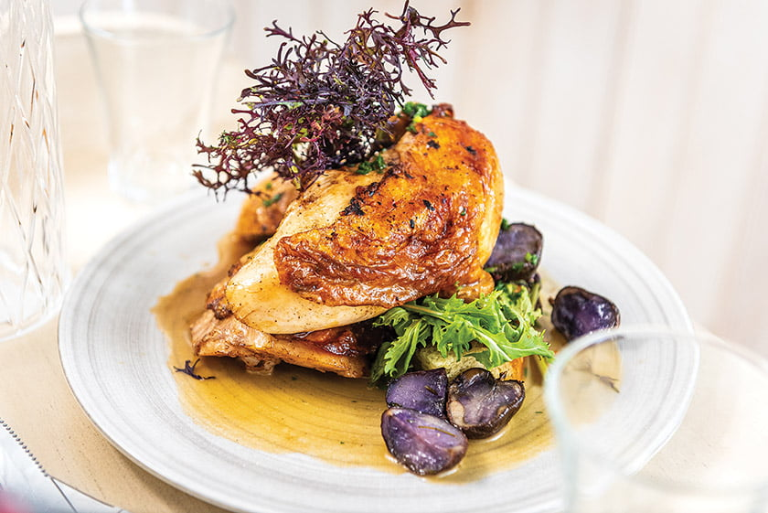 Lemon & Thyme Roasted Pennsylvania Chicken.
